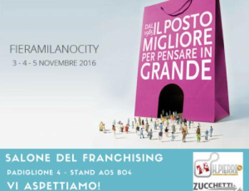 Dal 3 al 5 novembre incontriamoci al Salone del Franchising