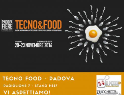 A Padova alla biennale del Gusto: Tecno&Food 20-23 novembre